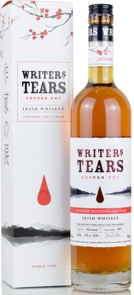 Writer's Tears Japanese Mizunara Single Cask #543 55% vol.