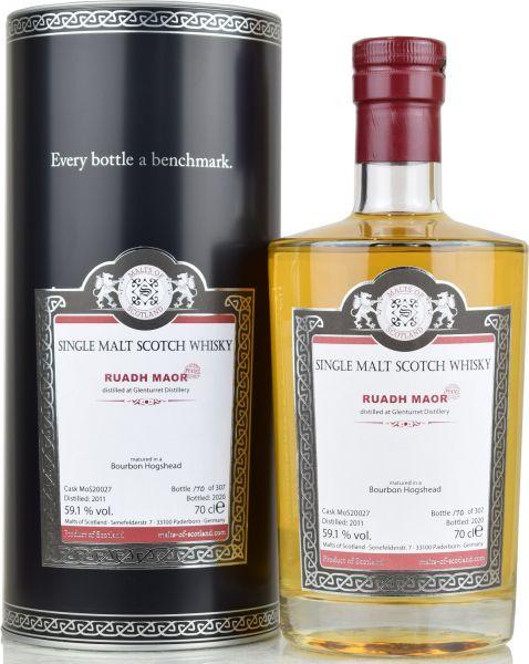 Ruadh Maor (Glernturret) 9 Jahre 2011/2020 Malts of Scotland 59,1% vol.