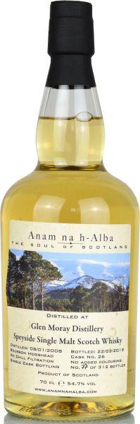 Glen Moray 11 Jahre 2008/2019 Anam na h-Alba 56,2% vol.