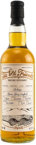 Glenburgie 11 Jahre 2007/2019 Oloroso Sherry Hogshead The Old Friends 55,9% vol.