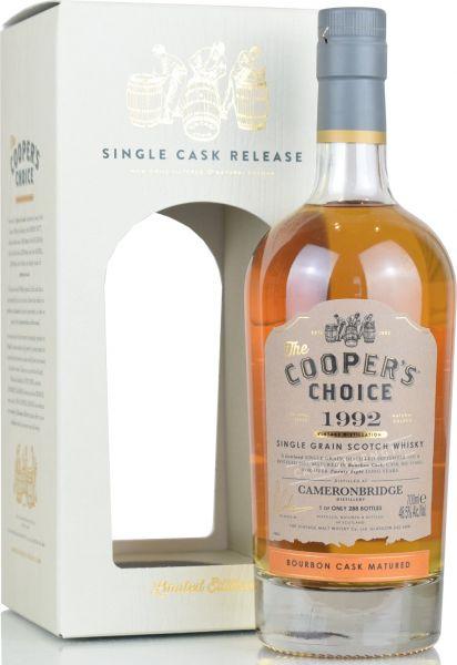 Cameronbridge 28 Jahre 1992/2021 Cooper's Choice 48,5% vol.
