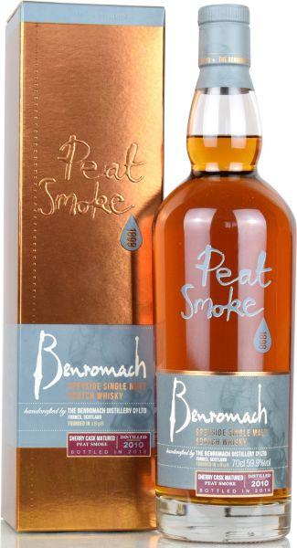 Benromach 2010/2018 Peat Smoke Sherry Cask 59,9% vol.