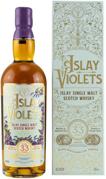 Islay Violets 33 Jahre 2020 Elixir Distillers 46,2% vol.