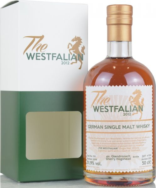 The Westfalian 2016/2021 Ex-Glendronach Sherry Hogshead #120 51,9% vol.