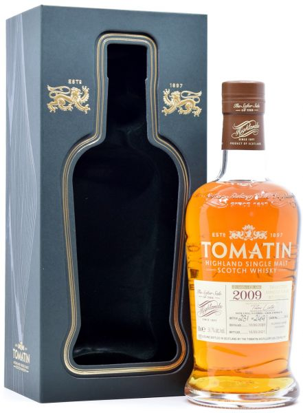 Tomatin 11 Jahre 2009/2021 Oloroso Single Cask #3440 for BSC 58,7% vol.