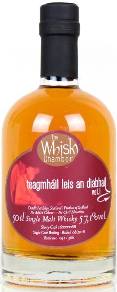Teagmháil leis an diabhail Vol. I Sherry Cask The Whisky Chamber 57,1% vol.