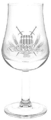 Tastingglas deinwhisky.de mit Eichstrich (klein)