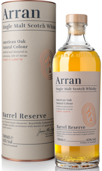 Arran Barrel Reserve 43% vol.