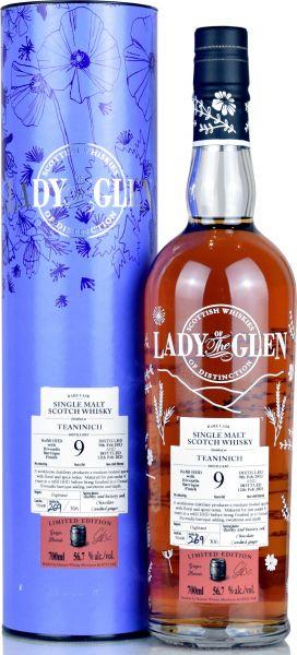 Teaninich 9 Jahre 2012/2021 Rivesalts Cask Lady of the Glen 56,7% vol.