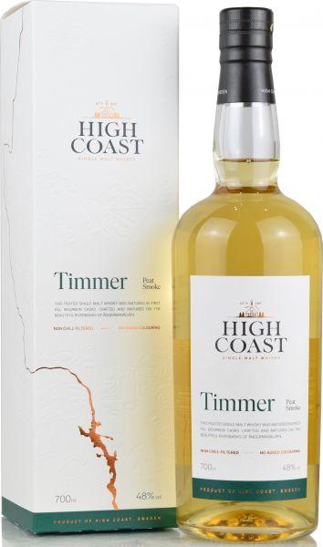 High Coast Timmer Peated 48% vol.
