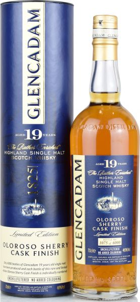Glencadam 19 Jahre Oloroso Sherry Casks