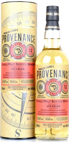 Speyburn 12 Jahre 2006/2018 Sherry Butt Provenance Douglas Laing 46% vol.