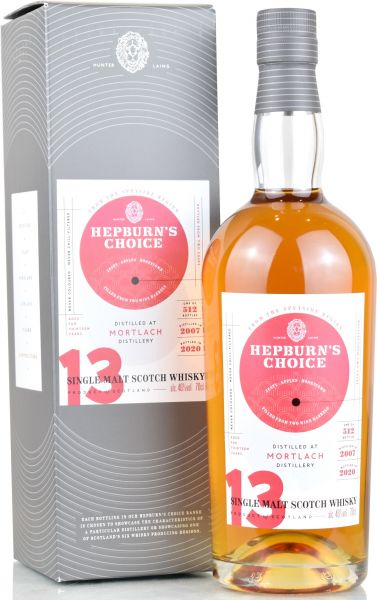 Mortlach 13 Jahre 2007/2020 Wine Finish Hepburn's Choice