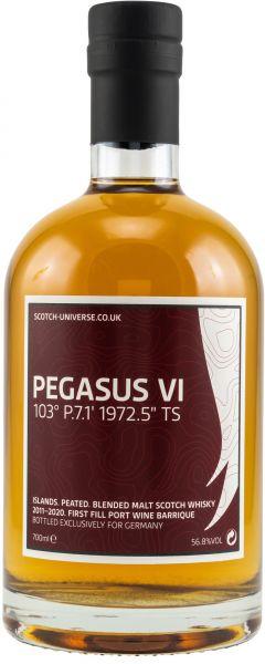 Pegasus VI 2011/2020 1st Fill Port Wine Barrique Scotch Universe 56,8% vol.