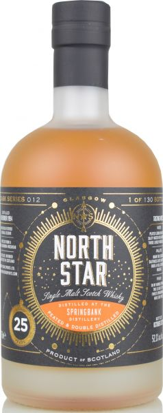 Springbank (Longrow) 25 Jahre 1994/2020 North Star Spirits #012 52,1% vol.