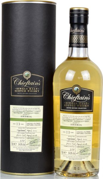 Ardbeg 13 Jahre 2005/2018 Chieftain's 54,8% vol.