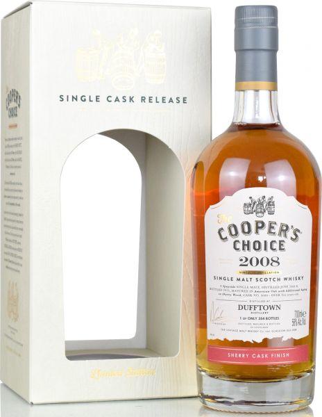 Dufftown 10 Jahre 2008/2019 Sherry Cask Cooper's Choice 56,0% vol.