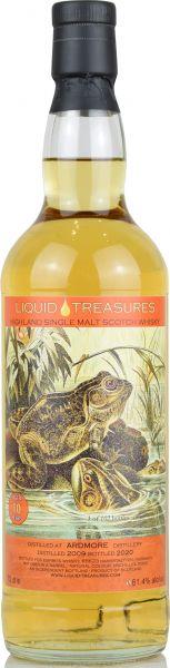 Ardmore 10 Jahre 2009/2020 Liquid Treasures Living World 61,4% vol.