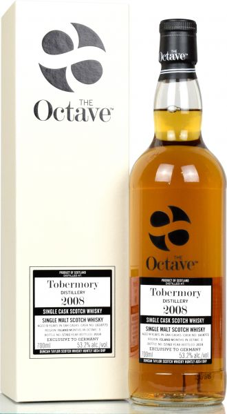 Tobermory 9 Jahre 2008/2018 Duncan Taylor Sherry Octave Cask #1618773