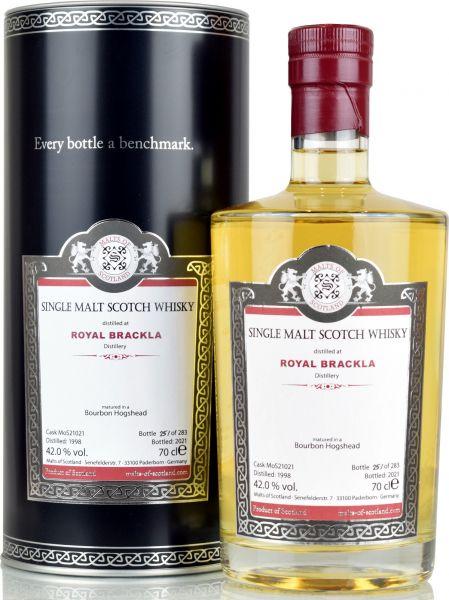 Royal Brackla 23 Jahre 1998/2021 Malts of Scotland 42% vol.