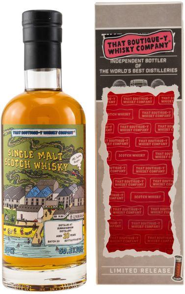 Bunnahabhain 10 Jahre Batch #22 That Boutique-y Whisky Company 50,1% vol.