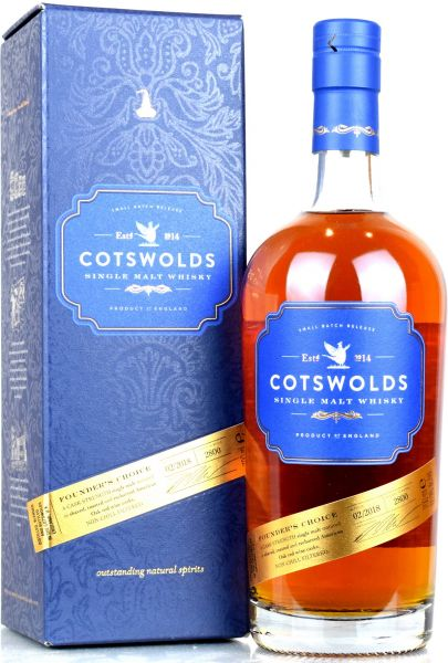 Cotswolds Founders Choice 60,9% vol.