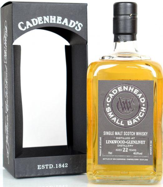 Linkwood 22 Jahre 1995/2018 Cadenhead 48,8% vol.
