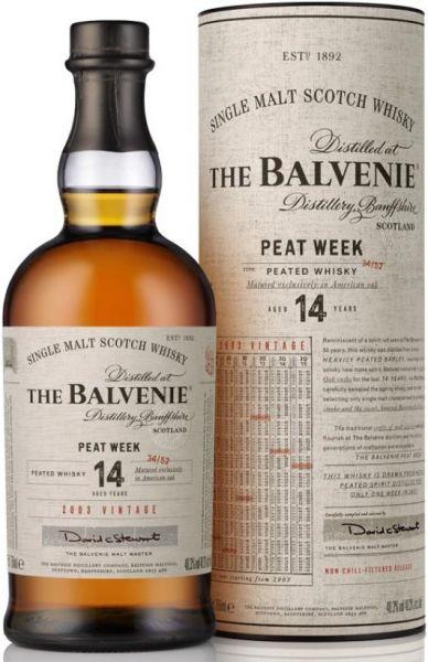 Balvenie 14 Jahre Peat Week 48,3% vol.
