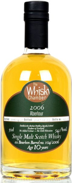 Aberlour 10 Jahre 2006/2017 The Whisky Chamber 54,1% vol.