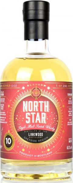 Linkwood 10 Jahre 2006/2017 North Star Spirits #002 60,2% vol.
