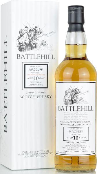 Macduff 10 Jahre 2008/2019 Sherry Cask Duncan Taylor Battlehill 53,9% vol.