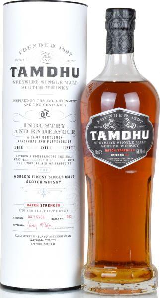 Tamdhu Cask Strength Batch #3 58,3% vol.