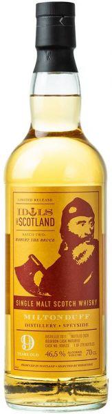 Miltonduff 9 Jahre 2011/2020 Idols of Scotland 46,5% vol.