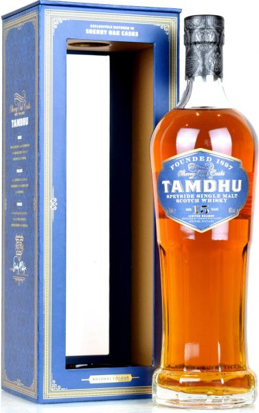 Tamdhu 15 Jahre Sherry Cask 46% vol.