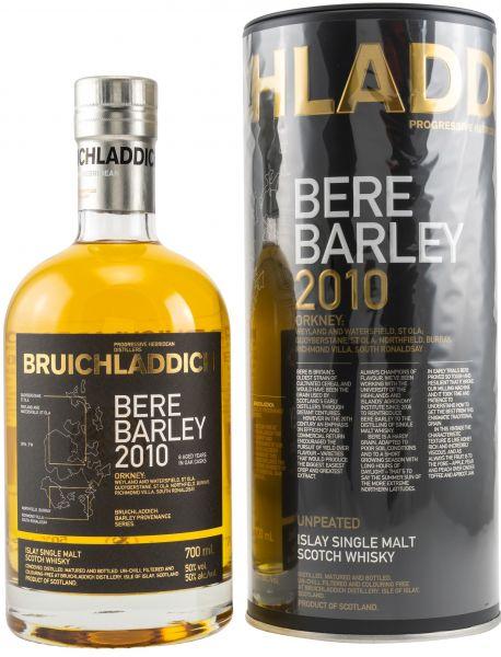 Bruichladdich Bere Barley 2010 50% vol.