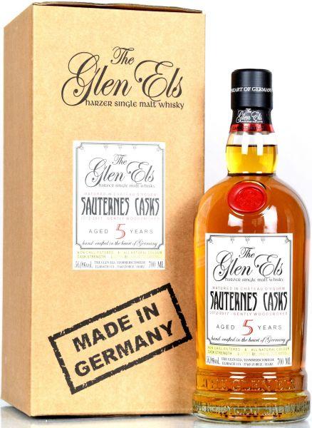 Glen Els 5 Jahre 2011/2017 Sauternes Casks Gently Woodsmoked 56% vol.