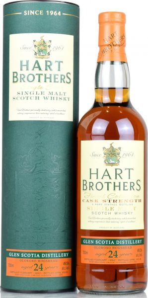 Glen Scotia 24 Jahre 1992/2016 Oloroso Sherry Cask Hart Brothers 49,5% vol.