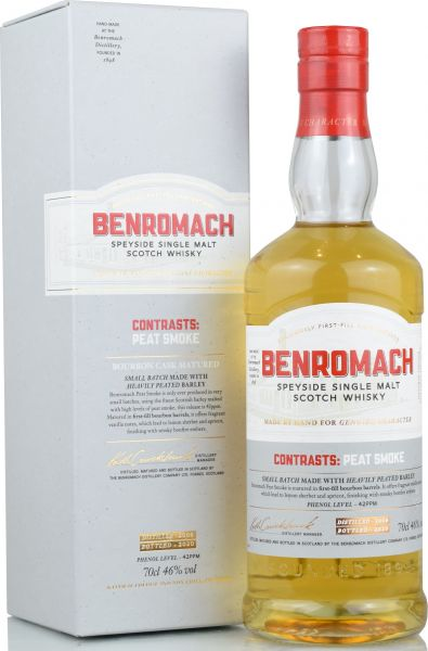 Benromach 2009/2020 Contrasts:Peat Smoke 46% vol.