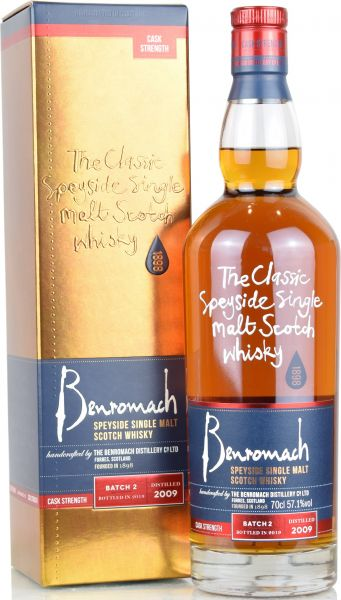 Benromach 10 Jahre 2009/2019 Cask Strength Batch #2 57,1% vol.