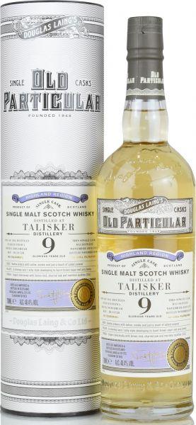 Dieser 9-jährige Talisker reifte in einem Refill Hogshead und wurde vom unabhängigen Abfüller Douglas Laing abgefüllt. DOUGLAS LAING's Old Particular besteht aus einer Reihe von handverlesenen Single Cask Malts aus ganz Schottland. Das bedeutet jede Flasc