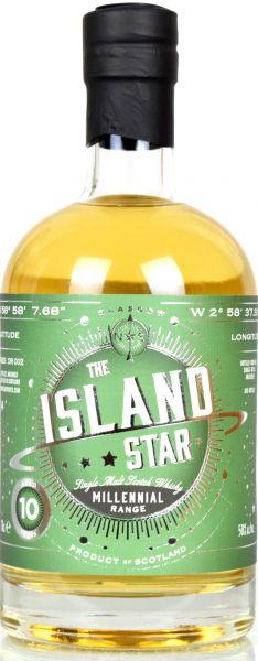 Island Star 10 Jahre 2008/2018 Refill Hogshead North Star Spirits Millennial Range OR002