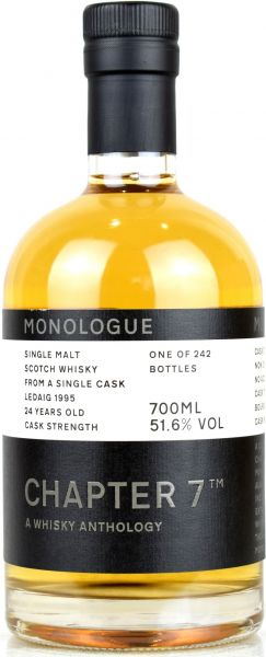 Ledaig 24 Jahre 1995/2020 Chapter 7 MONOLOGUE #2 51,6% vol.