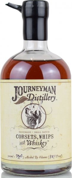 Journeyman Corsets, Whips & Whiskey Cask Strength 59,05% vol.