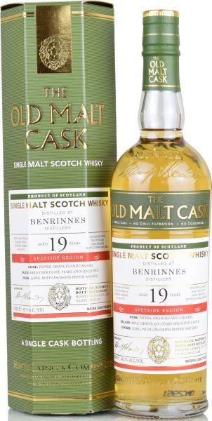 Benrinnes 19 Jahre 2000/2020 Hunter Laing Old Malt Cask 48,7% vol.
