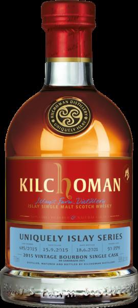 Kilchoman 2015/2021 Fresh Bourbon Cask Uniquely Islay An Samhdradh #685 58% vol.