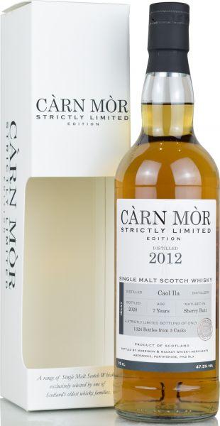 Caol Ila 7 Jahre 2012/2020 Sherry Cask Carn Mor Strictly Limited 47,5% vol.