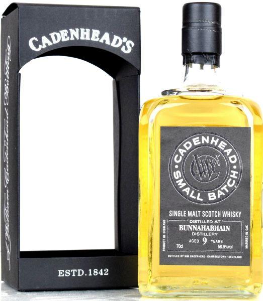 Bunnahabhain 9 Jahre 2009/2019 Cadenhead 58,9% vol.