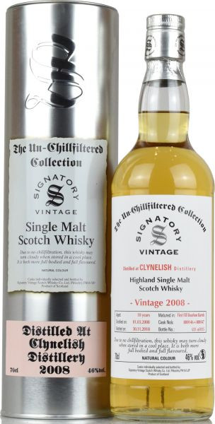 Clynelish 10 Jahre 2008/2018 SV Un-Chillfiltered Collection #800146 + 800147
