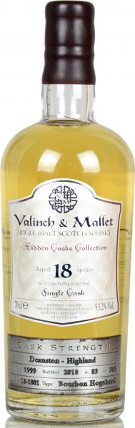 Deanston 18 Jahre 1999/2018 Valinch & Mallet 53,2% vol.