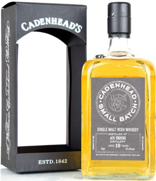 An Irish 10 Jahre 2006/2019 Cadenhead 47,4% vol.